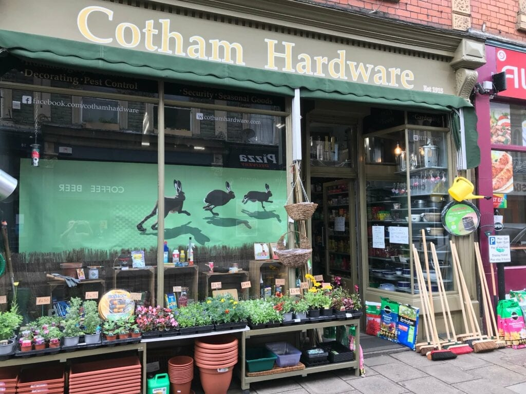 Selling a business during COVID - Cotham Hardware